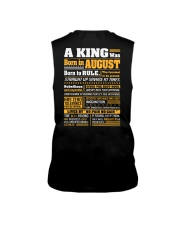 A King Was Born In August Sleeveless Tee thumbnail