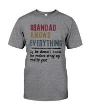 Grandad Knows Everything Classic T-Shirt thumbnail