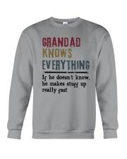 Grandad Knows Everything Crewneck Sweatshirt thumbnail