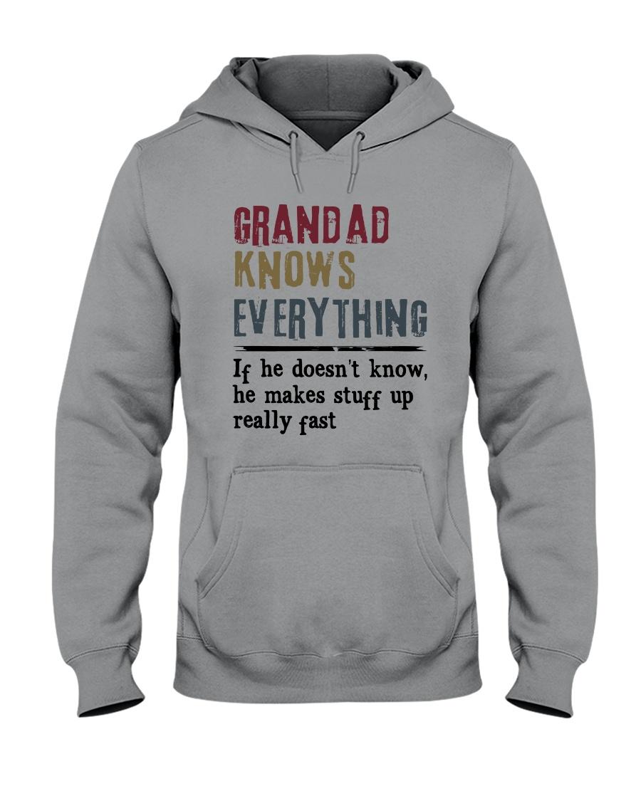 Grandad Knows Everything Hooded Sweatshirt