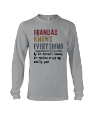 Grandad Knows Everything Long Sleeve Tee thumbnail