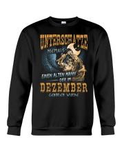 Mann Der im Dezember Geboren Wurde Crewneck Sweatshirt thumbnail