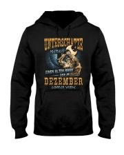 Mann Der im Dezember Geboren Wurde Hooded Sweatshirt thumbnail