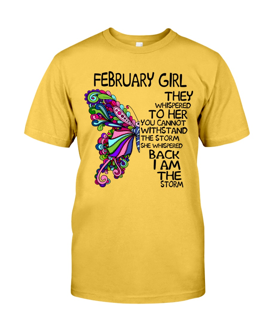 February Girl - Special Edition Classic T-Shirt