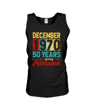 December 1970 - Special Edition Unisex Tank thumbnail