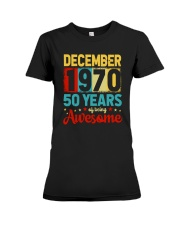 December 1970 - Special Edition Premium Fit Ladies Tee thumbnail