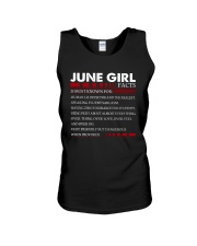 June Girl - Special Edition Unisex Tank thumbnail