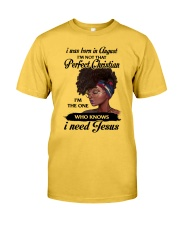 August Girl - Special Edition Classic T-Shirt front