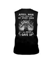 April Man - Limited Edition Sleeveless Tee back
