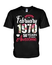February Girl - Special Edition V-Neck T-Shirt thumbnail