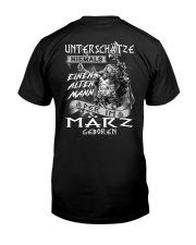 März Classic T-Shirt back