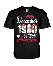 December Girl - Special Edition V-Neck T-Shirt tile