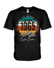 October 1965 - Special Edition V-Neck T-Shirt thumbnail