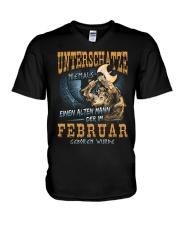 Mann Der im Februar Geboren Wurde V-Neck T-Shirt thumbnail