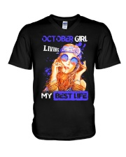 October Girl - Special Edition  V-Neck T-Shirt thumbnail