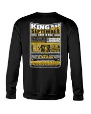 King Was Born September Crewneck Sweatshirt thumbnail