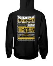King Was Born September Hooded Sweatshirt thumbnail