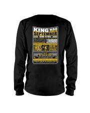 King Was Born September Long Sleeve Tee thumbnail