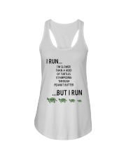I Run - Special Edition Ladies Flowy Tank thumbnail