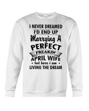 April Wife Crewneck Sweatshirt thumbnail