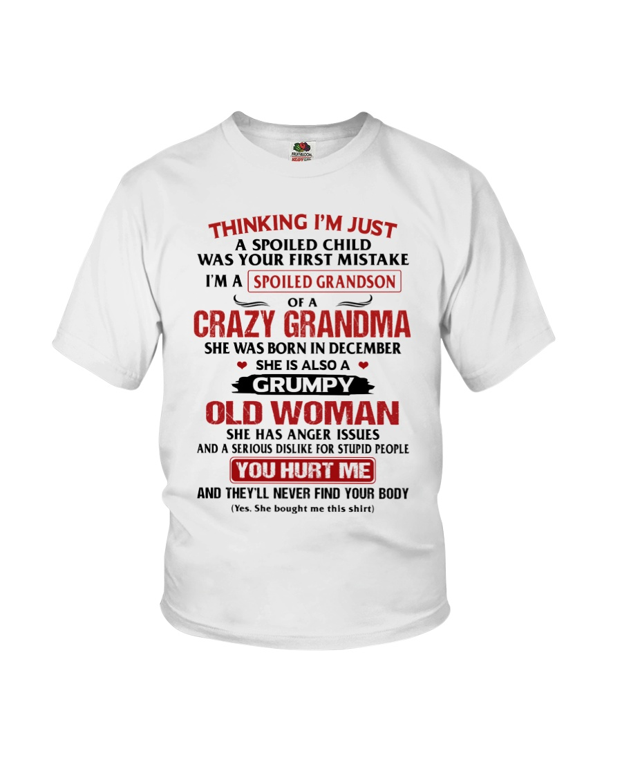 Spoiled Grandson - Special Edition Youth T-Shirt