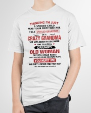 Spoiled Grandson - Special Edition Youth T-Shirt garment-youth-tshirt-front-lifestyle-01