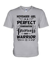 November Girl - Special Edition V-Neck T-Shirt thumbnail
