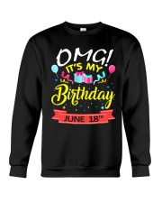 June 18th Crewneck Sweatshirt thumbnail