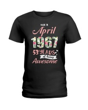 April Girl - Special Edition Ladies T-Shirt tile