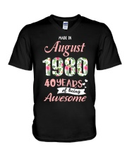 August Girl - Special Edition V-Neck T-Shirt tile