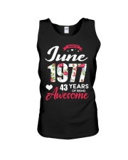 June 1977 - Special Edition Unisex Tank thumbnail