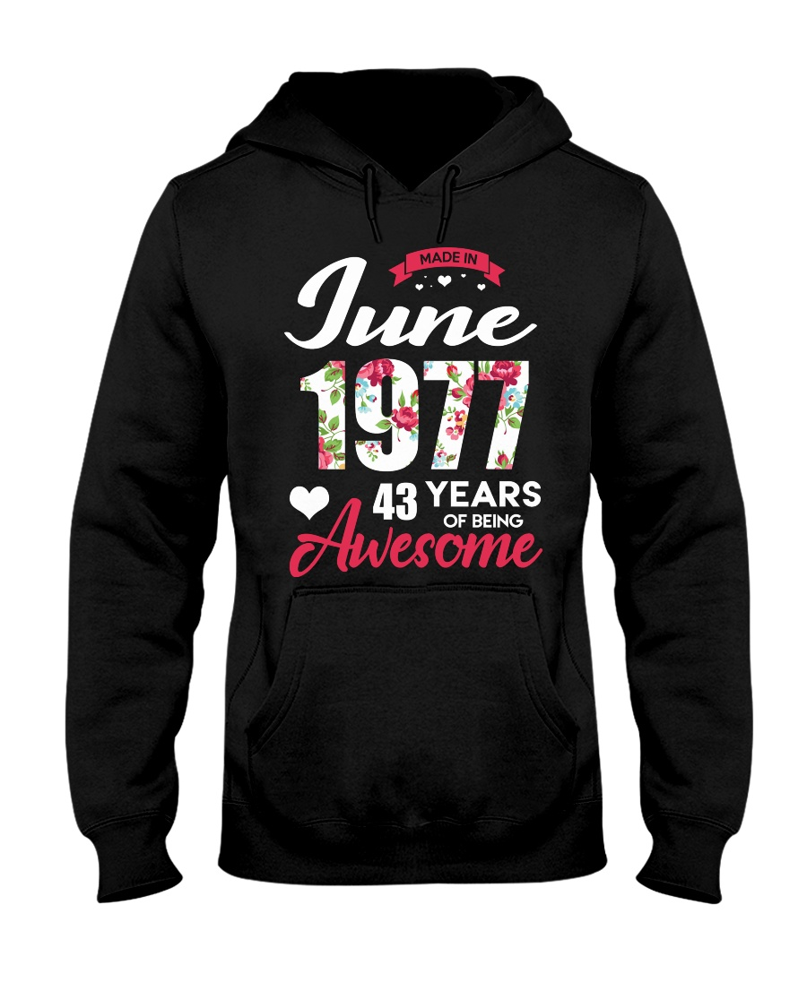 June 1977 - Special Edition Hooded Sweatshirt