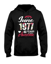 June 1977 - Special Edition Hooded Sweatshirt front
