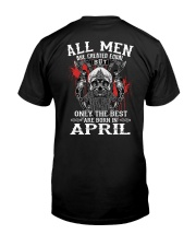 April Man - Limited Edition Classic T-Shirt back