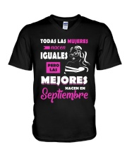 Septiembre V-Neck T-Shirt thumbnail