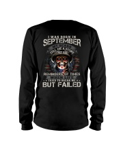 September Man - Special Edition Long Sleeve Tee thumbnail
