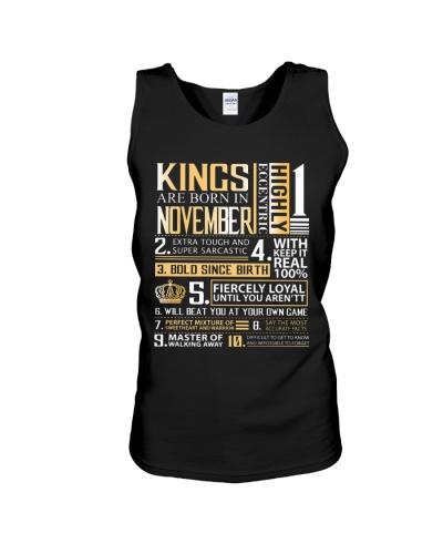 Kings Are Born In November