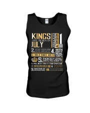 Kings Are Born In July  Unisex Tank thumbnail