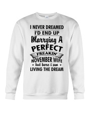 November Wife Crewneck Sweatshirt thumbnail