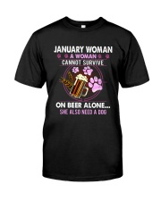 January Woman - Special Edition Classic T-Shirt front