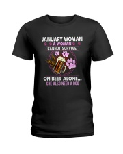 January Woman - Special Edition Ladies T-Shirt thumbnail