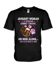 January Woman - Special Edition V-Neck T-Shirt thumbnail