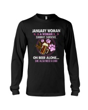January Woman - Special Edition Long Sleeve Tee thumbnail