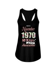 November Girl - Special Edition Ladies Flowy Tank thumbnail