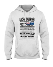 Lucky Daughter - Awesome Mom - Special Edition Hooded Sweatshirt front