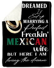 "Mexican Wife Large Sherpa Fleece Blanket - 60"" x 80"" thumbnail"