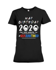May Birthday - Special Edition Premium Fit Ladies Tee thumbnail
