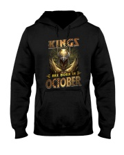 Kings Are Born In October Hooded Sweatshirt thumbnail