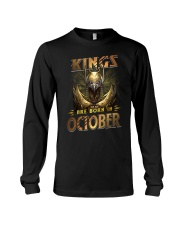 Kings Are Born In October Long Sleeve Tee thumbnail