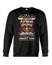April Old Man Crewneck Sweatshirt thumbnail